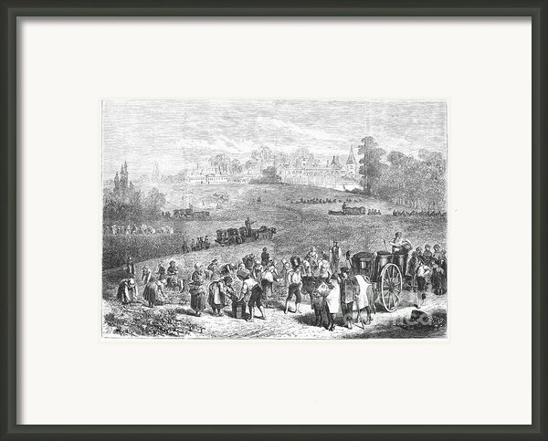 France: Wine Harvest, 1871 Framed Print By Granger