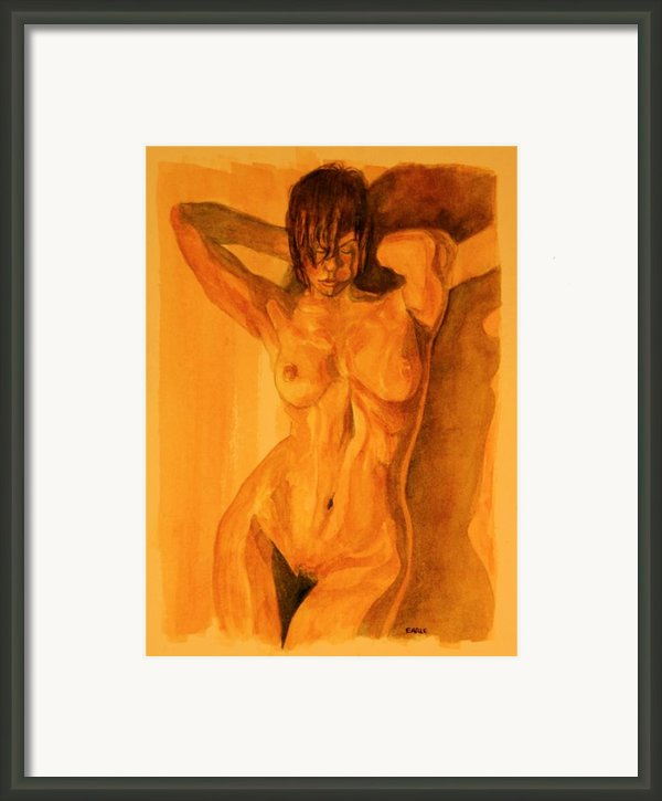 Francesca Framed Print By Dan Earle
