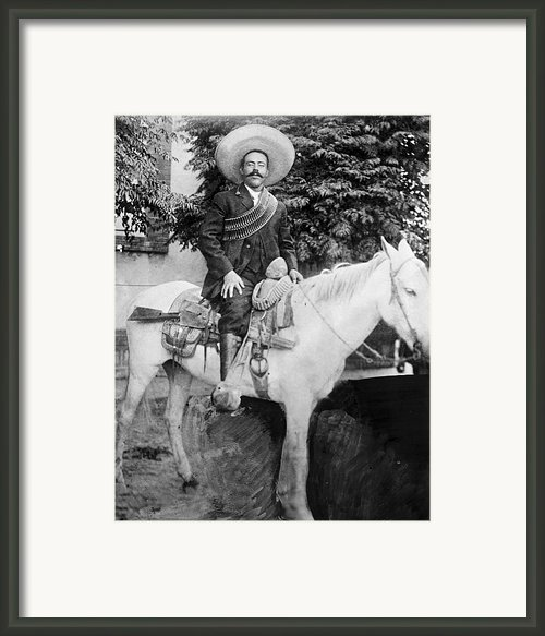 Francisco Pancho Villa Framed Print By Granger