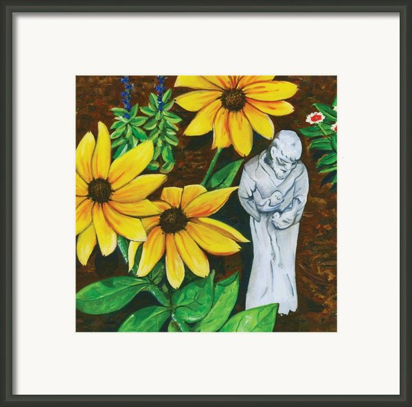 Frank And Susan Framed Print By Laura Brightwood
