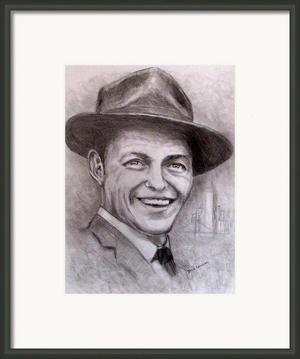 Frank Framed Print By Jack Skinner
