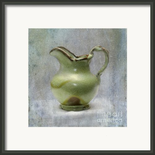 Frankhoma Pitcher Framed Print By Betty Larue