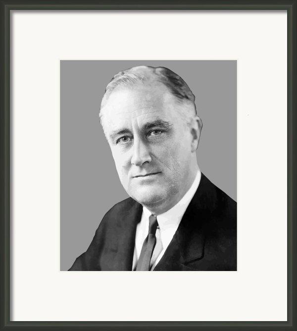 Franklin Delano Roosevelt Framed Print By War Is Hell Store