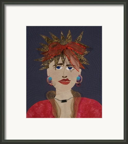 Frazzled Framed Print By Carol Ann Waugh