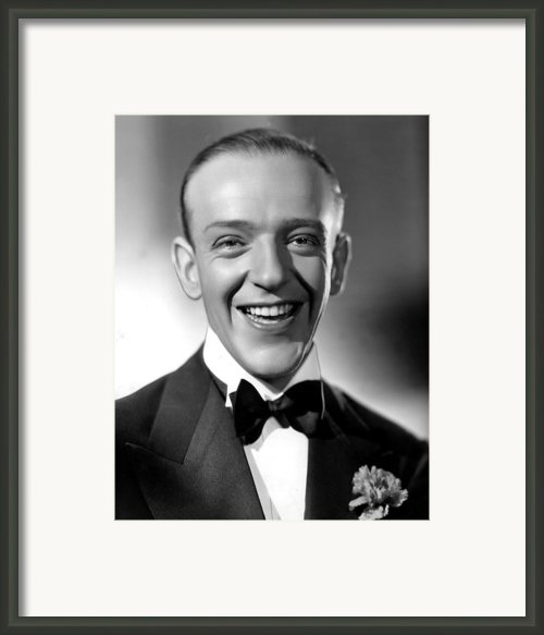 Fred Astaire, 1935 Framed Print By Everett
