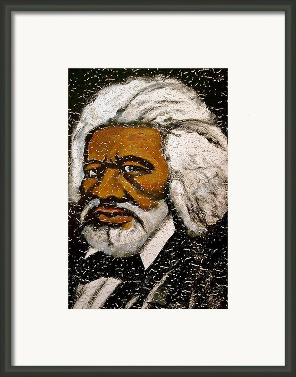 Frederick Douglas Framed Print By Pete Maier