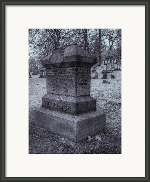 Frederick Douglass Grave One Framed Print By Joshua House