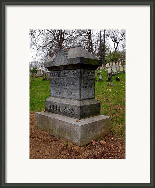 Frederick Douglass Grave Two Framed Print By Joshua House