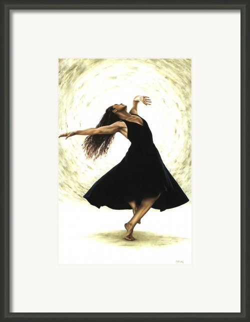 Free Spirit Framed Print By Richard Young