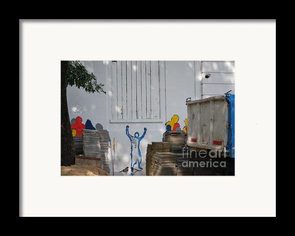 Freedom Framed Print By Jen Bodendorfer
