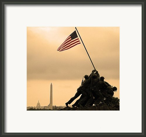 Freedom Framed Print By Mitch Cat