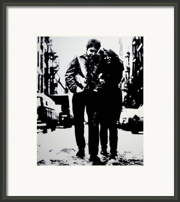 Freewheelin Framed Print By Luis Ludzska