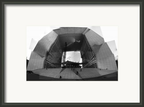 French Aperture Framed Print By Alan Todd