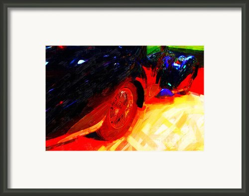 French Classic In Abstract Framed Print By Wingsdomain Art And Photography