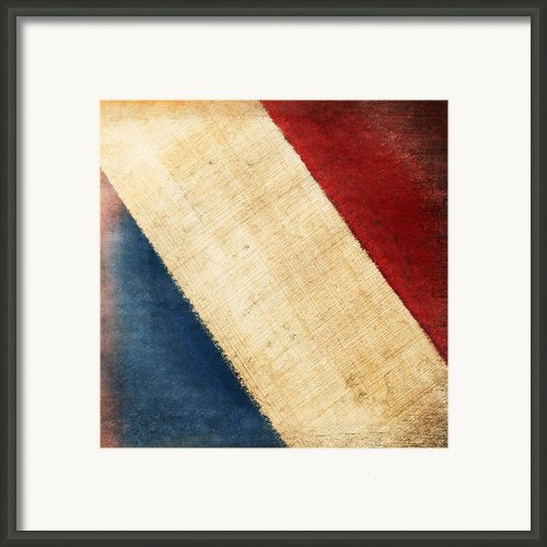 French Flag Framed Print By Setsiri Silapasuwanchai