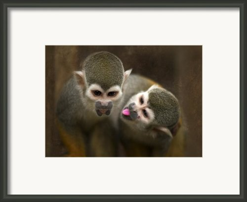 French Kiss Framed Print By Angel  Tarantella