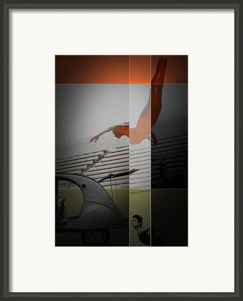 French Kiss Framed Print By Irina  March