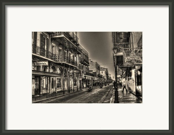 French Quarter Ride Framed Print By Greg And Chrystal Mimbs