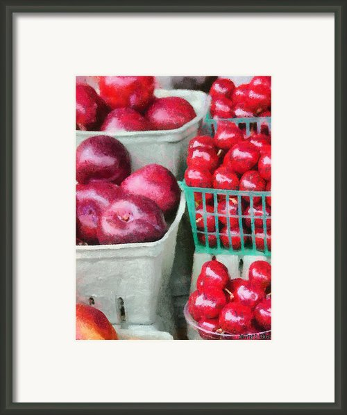 Fresh Market Fruit Framed Print By Jeff Kolker