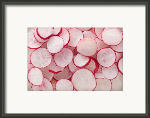 Fresh Radishes Framed Print By Steve Gadomski