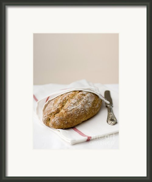 Freshly Baked Whole Grain Bread Framed Print By Shahar Tamir