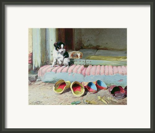 Friend Or Foe Framed Print By William Henry Hamilton Trood
