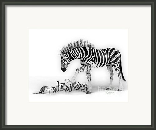Friends Framed Print By Jutta Maria Pusl