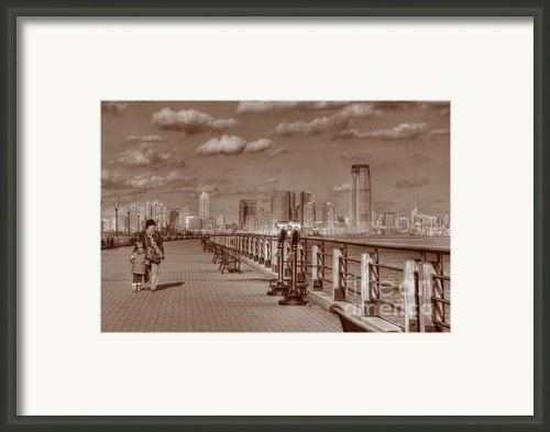 Friends Sepia Framed Print By Lee Dos Santos