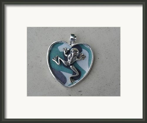 Frogman Framed Print By Jessica Cruz