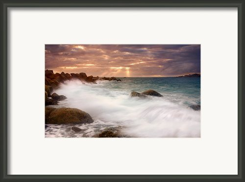 From Above Framed Print By Mike  Dawson