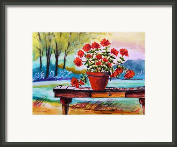 From The Potting Shed Framed Print By John  Williams
