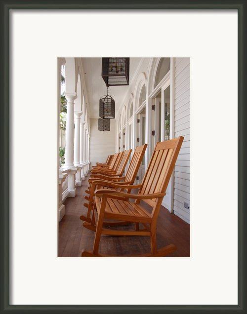 Front Porch Framed Print By Kelly Wade