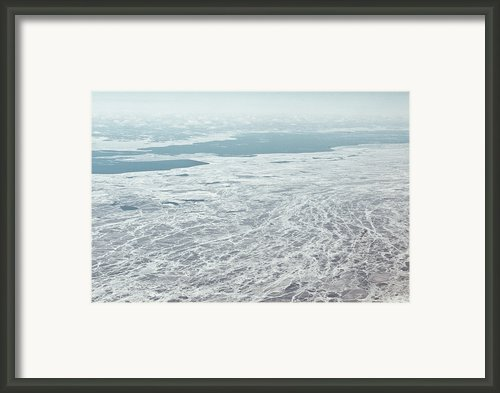 Frozen And Ice Covered Gulf Of Finland Framed Print By Photography By Oleg Pulemjotov (photogruff)