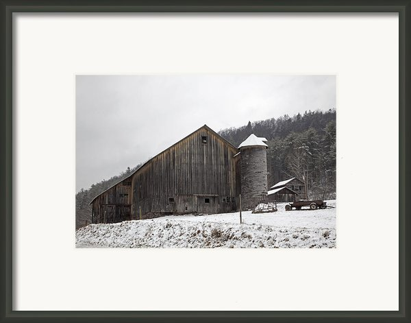 Frozen In Time  Framed Print By John Stephens