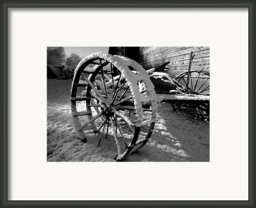 Frozen In Time Framed Print By Steven Milner