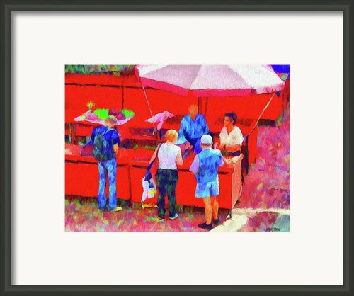 Fruit Of The Vendor Framed Print By Jeff Kolker