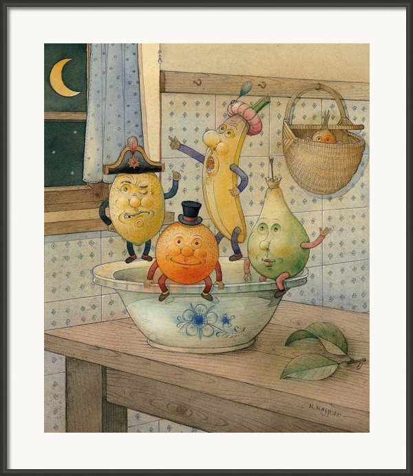 Fruits Framed Print By Kestutis Kasparavicius