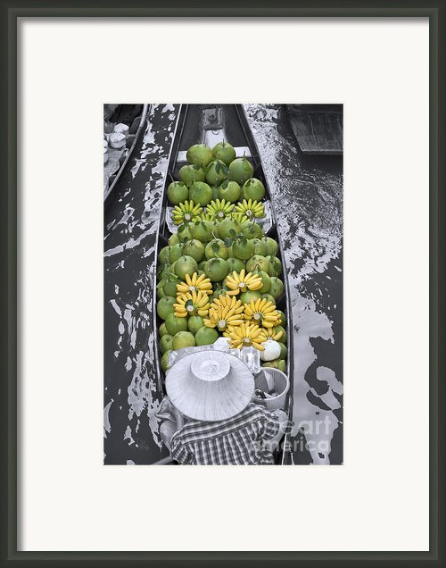 Fruits Framed Print By Stefano Baldini