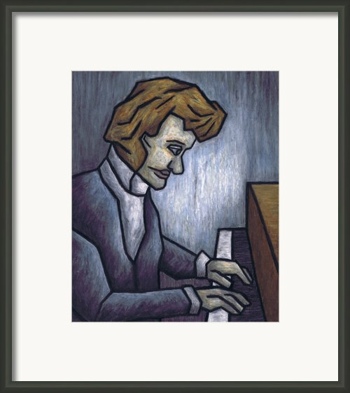 Fryderyk Chopin - Prelude In E-minor Framed Print By Kamil Swiatek