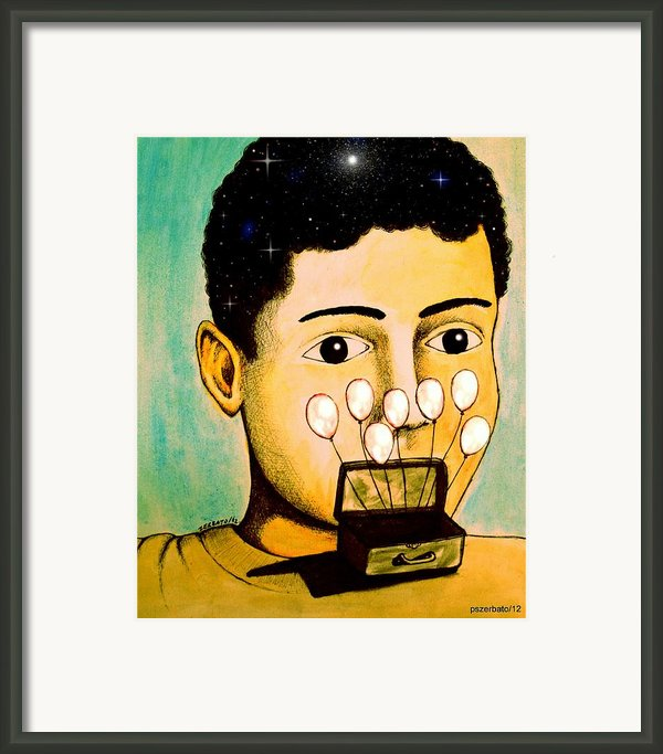 Full Of Memories Brought To Feed The Future Framed Print By Paulo Zerbato