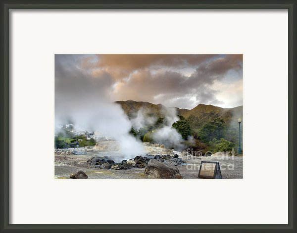 Furnas Framed Print By Andre Goncalves