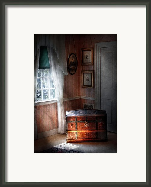 Furniture - Bedroom - Family Secrets Framed Print By Mike Savad