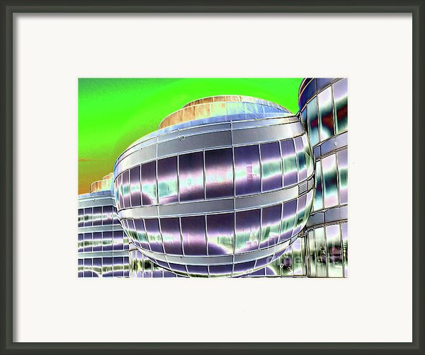 Future Office Space Framed Print By Carol Groenen