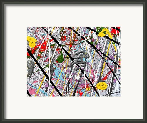Fyr Art Work 7 Framed Print By Cyryn Fyrcyd