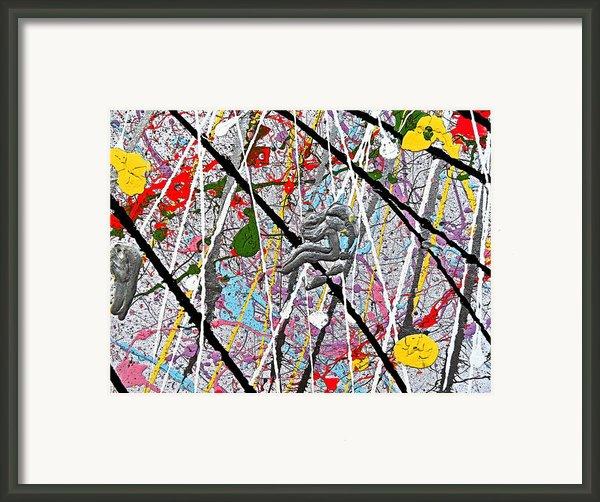 Fyr Art Work 7 Framed Print By Cyryn Fyrcyd