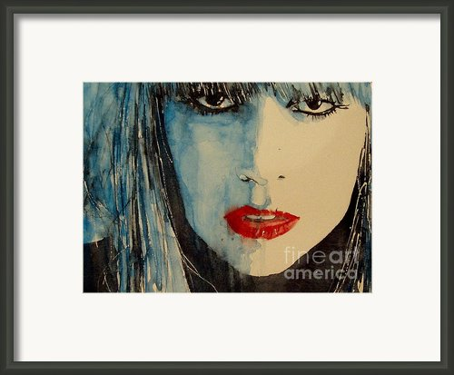 Gaga Framed Print By Paul Lovering