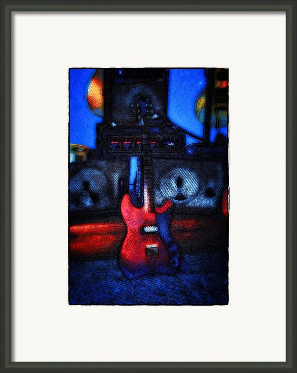 Garage Rock Framed Print By Bill Cannon