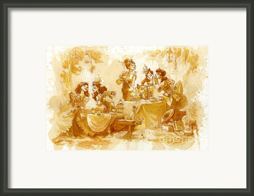 Garden Party Framed Print By Brian Kesinger