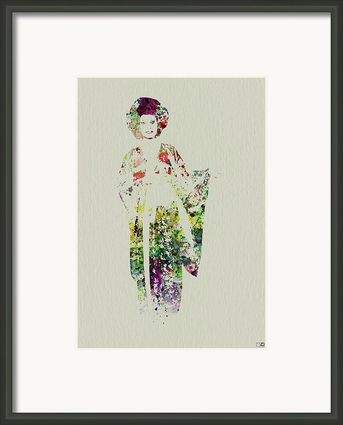 Geisha Framed Print By Irina  March