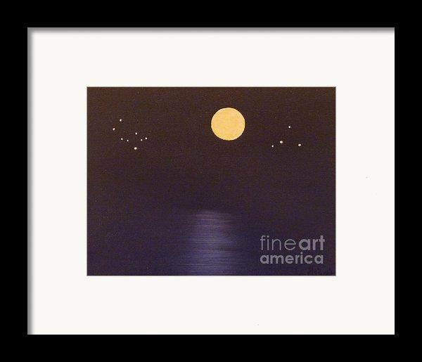 Gemini And Libra Framed Print By Alys Caviness-gober
